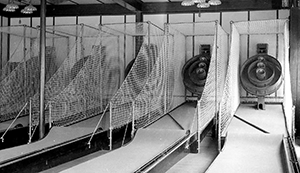 Early Skee-Ball Alley