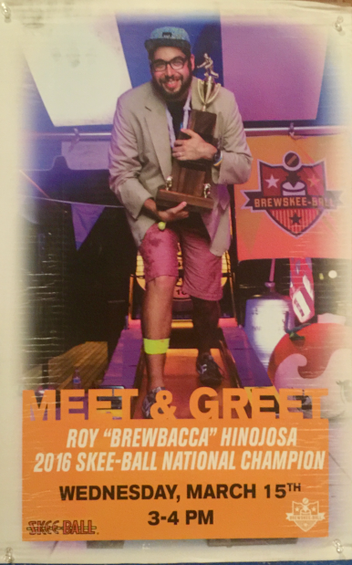 Brewbacca Meet & Greet Poster