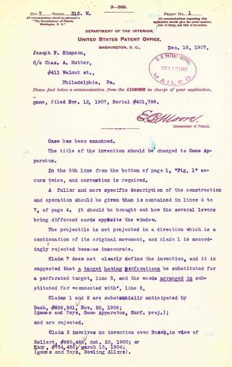 Hyatt's Letter Dec. 18, 1907, Page 1