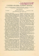 US Patent 905,941 • Page 1